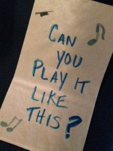 Can You Play It Like This?  A  fun music therapy intervention focusing on following directions, speech, articulation, interaction, turn taking, and so much more.