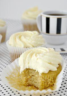 Cupcakes de abóbora! (Pumpkin Cupcakes)