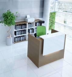 High end modern office furniture small reception desk beauty salon ...