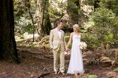 Romantic Backyard Wedding by Belle La Monde Weddings & Events on Borrowed & Blue.