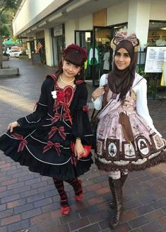 Muslim Lolita Fashion Is A New Trend Inspired By Japan | Bored Panda