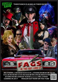 Fags in the Fast Lane (2017) Full Movie Streaming HD