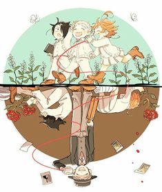Read Yakusoku No Neverland / The Promised Neverland Best Manga Online in High Quality Manga Anime, Fanarts Anime, All Anime, Anime Love, Anime Characters, Anime Art, Batman Poster, Dark And Twisted, Anime Kunst