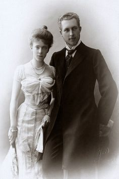 Engagement image of Elisabeth in Bayern with prince Albert of Belgium, later King Albert I.