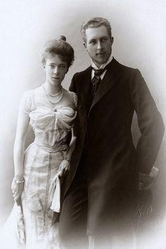 Fiançailles d'Elisabeth et Albert, futur roi de belgique.