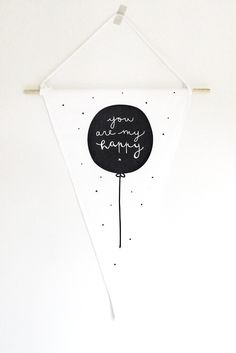 WALL FLAG | Happy + Kitchen Happy Kitchen, Party Needs, Party Banners, Big Girl Rooms, Happy People, Birthday Decorations, Party Time, Kids Room, Flag