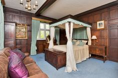 Caverswall Castle, Staffordshire · Staffordshire · Country · Sotheby's International Realty Local History, Property For Sale, Castle, Country, Bed, Wedding, Furniture, Home Decor, Valentines Day Weddings