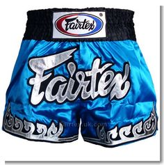 Practical shorts from Fairtex company to fight muay thai boxing
