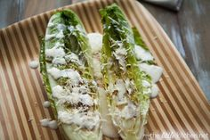 Grilled Caesar Salad - This was a good twist on the caesar salad we seem to eat so often.  Nice to switch it up a little! Cute Photos, Cool Pictures, Nice Picture, Party Salads, Avocado Salad, Fruit Salad, Healthy Salad Recipes, Chicken Salad, Cabbage