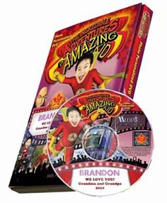 This photo personalized DVD features your child as Amazing Kid. Surpass multiple simulations, cease all Professor Nastys antics, and become the world-acclaimed hero. $29.95 http://www.kdnovelties.com/personalized-dvds/amazing-kid/personalized_166.html Personalized Photo DVDs   Personalized Kids DVDs