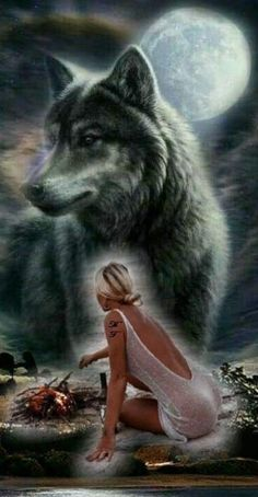I can see this on black velvet, like on a painting. Or a tat. Wolf Images, Wolf Photos, Wolf Pictures, Native American Wolf, Native American Pictures, Wolves And Women, Dream Catcher Art, Wolf Artwork, Wolf Painting