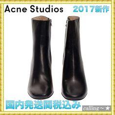 セレブ愛用者多数☆Acne Studios☆ALLIS ANKLE BOOTS