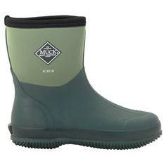 The Scrub boot is the answer to you gardening needs, this short boot allows the flexibility needed to kneel and bend for all that awkward weeding. Easy to slip on and off, Muck Boots have created the perfect short boot, still 100% waterproof with a reinforced rubber toe, heel and instep so you still have the protection you need.