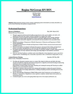 Nurse Resume Example Sample resume Resume examples and Resume advice