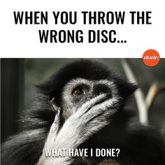 Don't even try to deny it... we've all been there at least 1 time! . . #DiscGolf #DUDEclothing #DiscGolfMemes