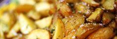 Batatas fritas com casca, com oregãos
