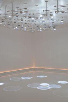 falling light installation van studio5555