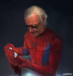 Our company wants to have a tribute for the legend Stan Lee , so I did an illustration for this one. Dc Comics, Marvel Avengers Comics, Avengers Movies, Marvel Heroes, Marvel Characters, Marvel Dc, Comic Superheroes, Comic Movies, Stan Lee Spiderman