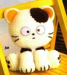 Crochet es un arte: gatito amigurumi