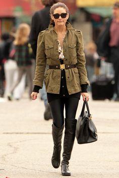 Olivia P. I love your style