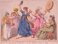 "George Woodward. ""Savoyards of Fashion -- or, the Musical Mania of 1799"""