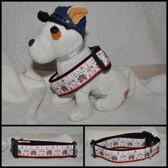 Handmade dog's collar with different design by ZsombiLand on Etsy