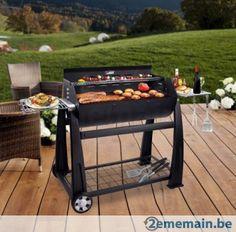Lokkii Perfection Half Barrel BBQ et Rotissoire gratuite - A vendre