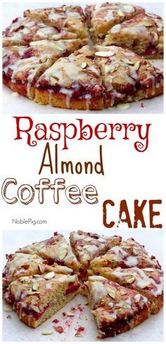 Video + Recipe: SO EASY! The perfect brunch addition, this Raspberry Almond Coffee Cake will have everyone looking for a second slice. Breakfast Cake, Breakfast Dishes, Breakfast Recipes, Baking Recipes, Cake Recipes, Dessert Recipes, Raspberry Coffee Cakes, Brunch Recipes, Biscotti