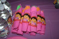 Photo 3 of 29: Dora the Explorer / Birthday Delaineys Dora Party | Catch My Party