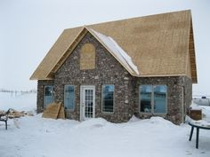 Jared & Jenn's Stone House on the Prairie: Building a Slipform Stone House from the Ground Up.