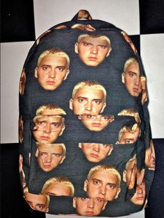 SWEET LORD O'MIGHTY! EMINEM BACKPACK