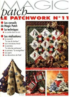 Magic Patch, Le Patchwork No 11 1998 Christmas magazine