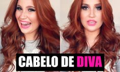 Cabelos de Diva (fácil) com chapinha/babyliss 2 em 1! + Beijinhos para a...