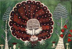 Sem título, de Maria Primachenko, 1961