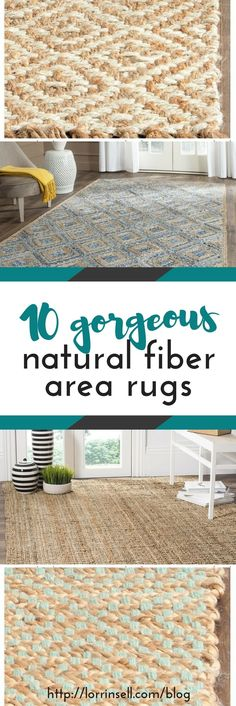 i love all of the texture natural fiber area rugs can add to a room, and they're still neutral!  these are so beautiful, and all are priced right!!