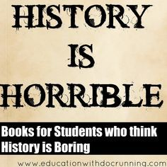 I love the stories of history, but my students LOVE the ghoulish parts - the revolutions, the dr...
