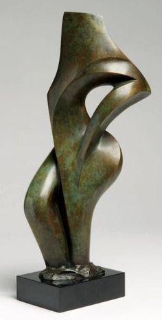 Francine TOBIASS (née en 1949) Féminité, 1986 Bronze à patine verte, sculpture signée, datée et numérotée 4/8. Fondeur Blanchet Hauteur: 40 cm (socle inclus) Provenance: Oeuvre acquise directement auprès… - Millon - 22/03/2013 Bronze Sculpture, Steel Sculpture, Art Sculpture, Modern Sculpture, Abstract Sculpture, Abstract Art, Conceptual Art, Surreal Art, Metal Art