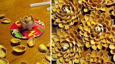 Škrupiny z pistácií sa dajú premeniť na krásne kvety