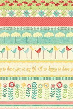 Cute pattern wallpaper ~