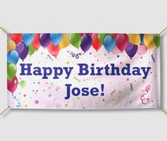Happy Birthday Banner Design Lovely Happy Birthday Signs Personalized From Halfpricebanners Birthday Banner Design, Personalized Birthday Banners, 1st Birthday Banners, Party Banners, Happy Birthday Signs, Outdoor Banners, Printable Banner, Custom Banners, Templates