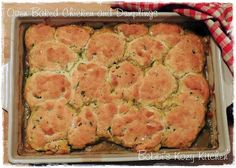 Bobbi's Kozy Kitchen: Oven Baked Chicken and Dumplings