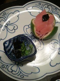 "In a small bowl delicious sashimi!  ""Fufu"" Atami Japan"