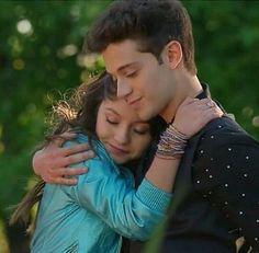 Que hermosa pareja #LutteoForever Luna y Matteo...!