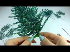 Голубая ель. Урок 4 - Cборка / Blue spruse. Lesson 4 - Assembly - YouTube