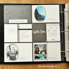 My Project Life Scrapbook - The Handcrafted Story