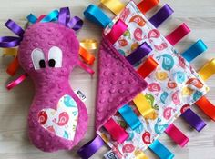 Beautiful handmade sensory toys for babies and children - Cuddle Monsters www.cuddlemonstercrafts@gmail.com