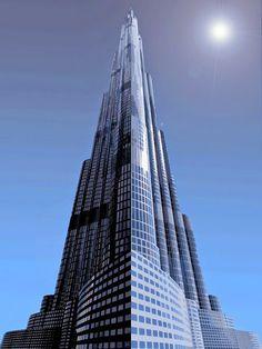 Skyscrapers in the World     Burj Khalifa -Dubai