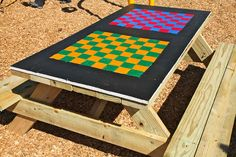 How to Build Tabletop Game Boards: Add some game boards to the tables in your playspace with our easy steps. Perfect for all ages!