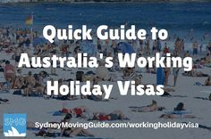 A Quick Guide to Australian Working Holiday Visas