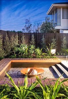 Seat among the plants houzz